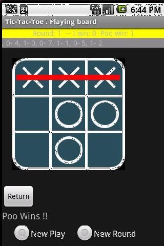 Tic-Tac-Toe with other telepho - screenshot