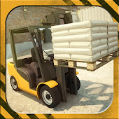 3D Forklift Parking Simulator