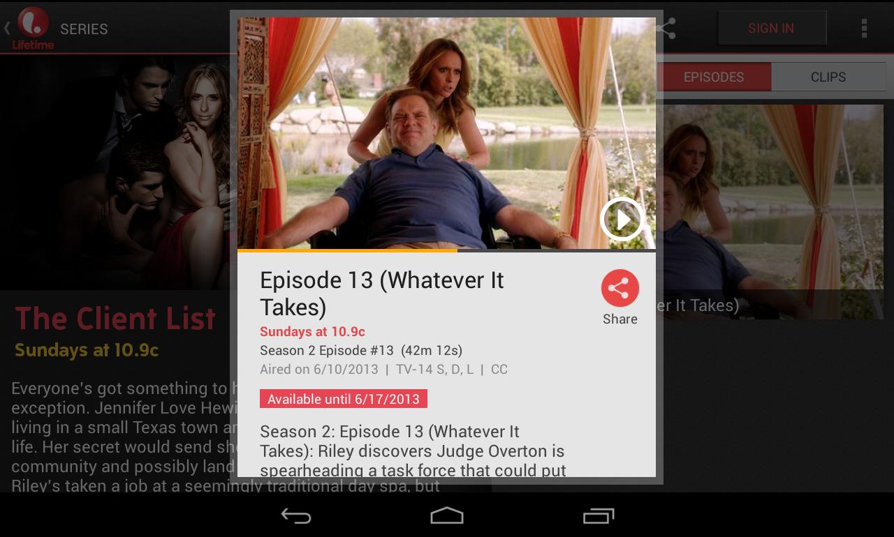 Lifetime - screenshot