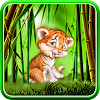 Cute tiger cub live wallpaper