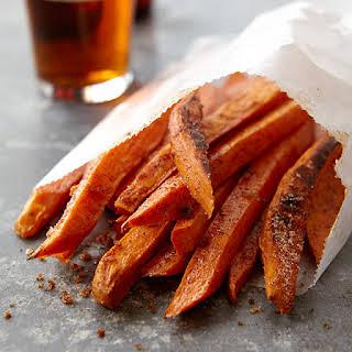 Cinnamon-Sugar Sweet Potato Fries.