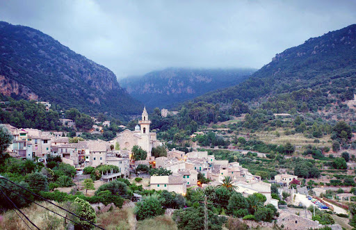 "Valldemosa-Mallorca-Spain - Valldemossa is a picturesque village on the island of Mallorca, the setting for George Sand's book, ""A Winter in Majorca."" The city's beauty and cultural history have inspired many songs and poems over the centuries."