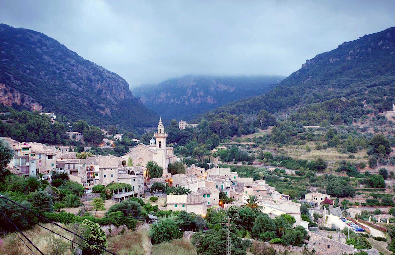 Valldemossa is a picturesque village on the island of Mallorca, the setting for George Sand's book,