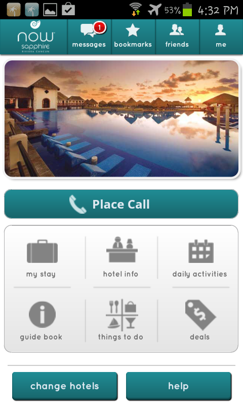 Now Resorts and Spas - screenshot