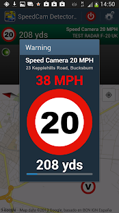 Speed Camera Detector Free UK- screenshot thumbnail