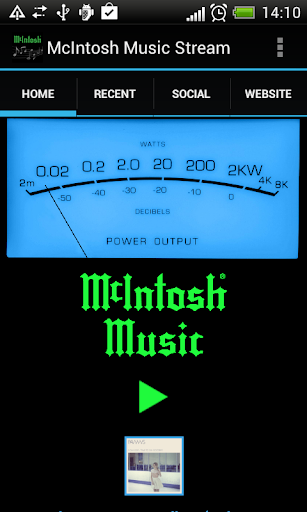 McIntosh Music Stream