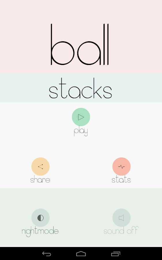 Ballstacks- screenshot