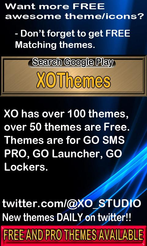 Glittery Theme for GO Launcher- screenshot