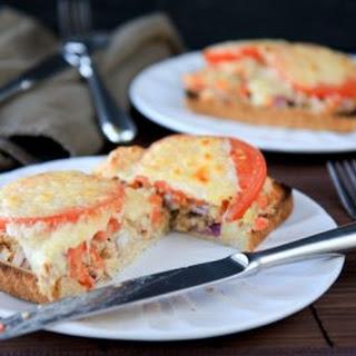 Open-Face Hummus Tuna Melt