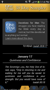 One Year® Devo Reader - náhled