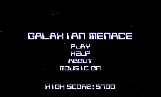 Galaxian Menace