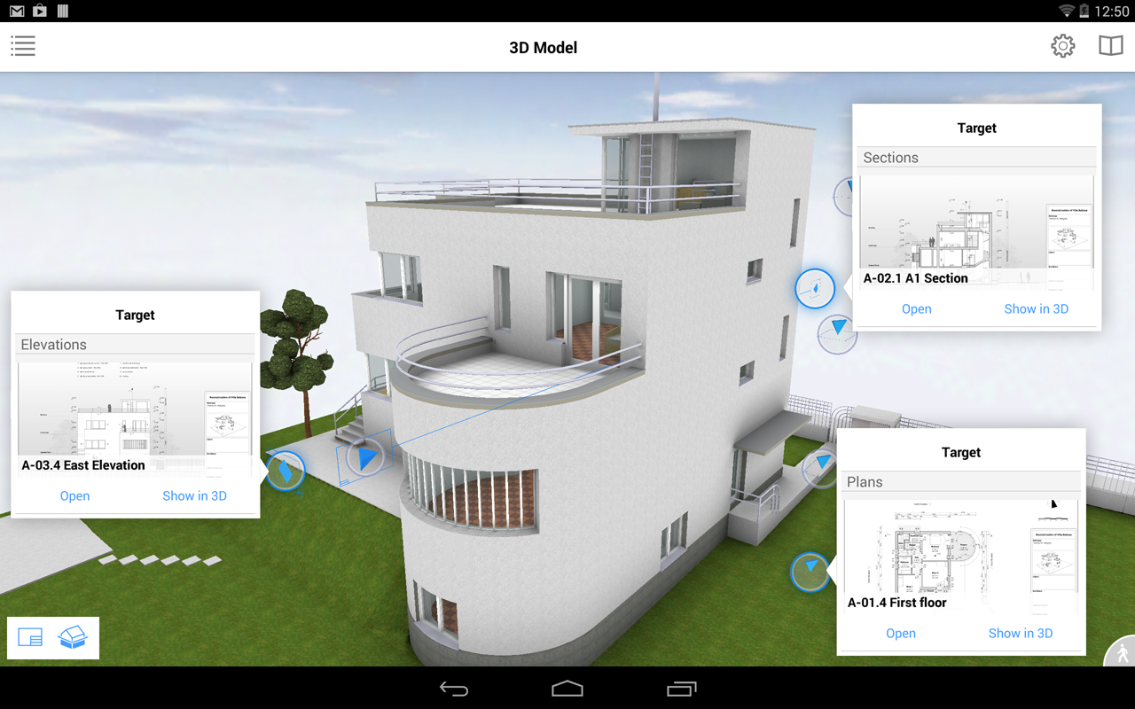 BIMx - BIM eXplorer- screenshot