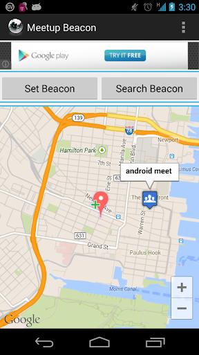 Location Broadcast Beacon