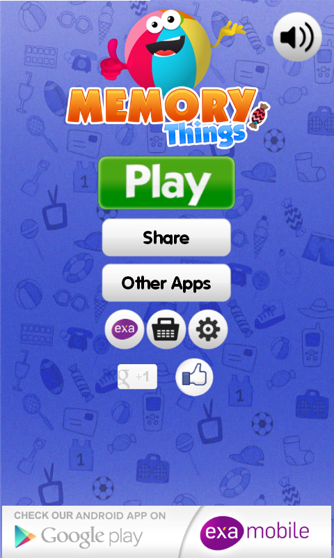 Memo Games Things & Toys- screenshot