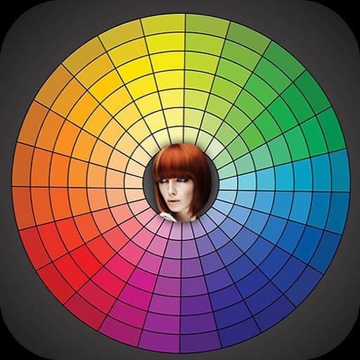 改變發色的照片 工具 App LOGO-APP開箱王