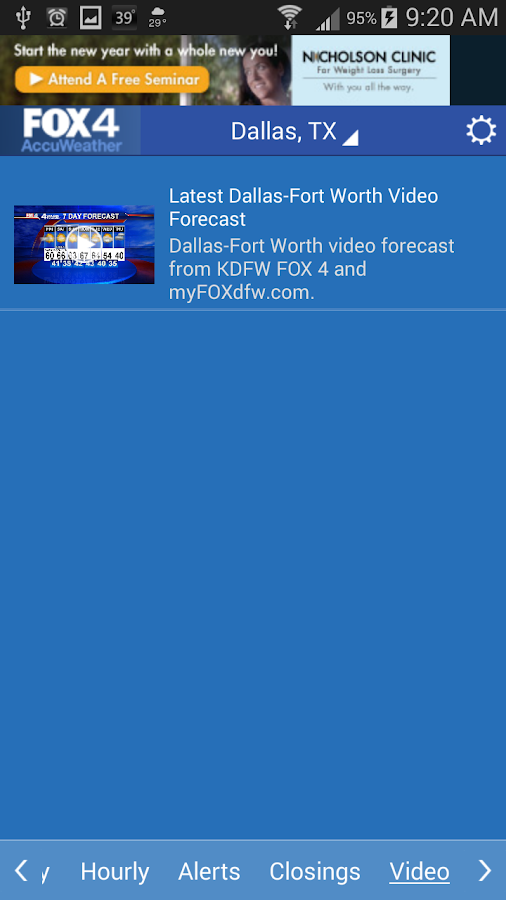 FOX 4 KDFW WAPP - screenshot