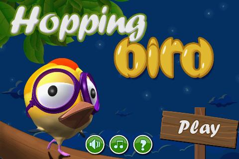 Hopping bird Free