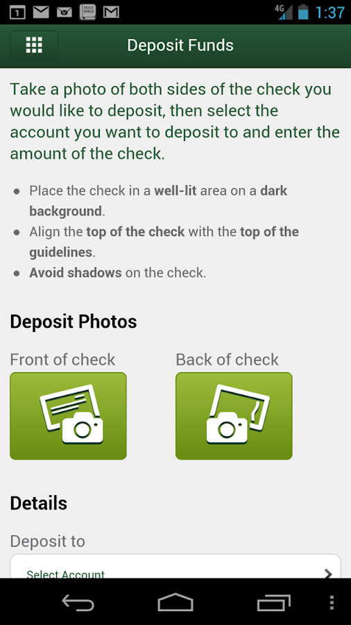 Chemical Bank Mobile Banking - screenshot