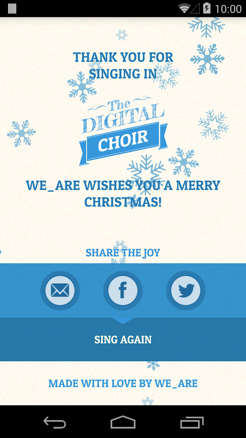 The Digital Choir - screenshot