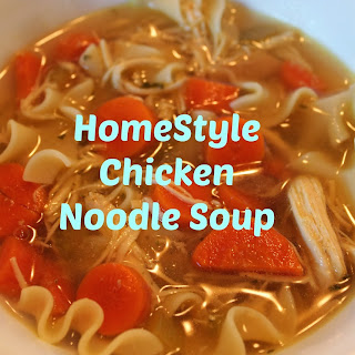 Slow Cooker Homestyle Chicken Noodle Soup