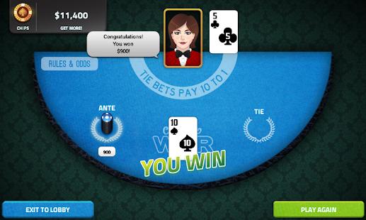 Casino War - Empire Casino
