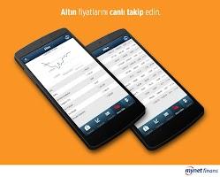 Screenshot of Mynet Finans Borsa Döviz Altın