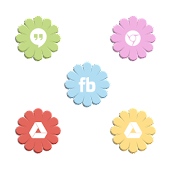 VM14 Mixed Pastel Flower Icons
