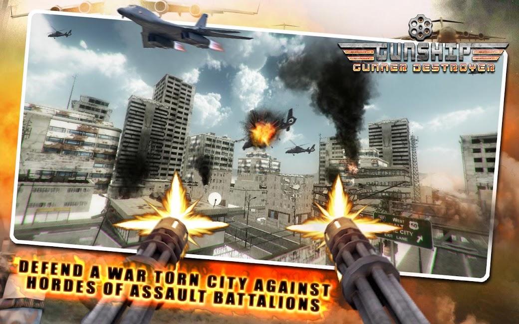 #10. Gunship Gunner Destroyer (Android)