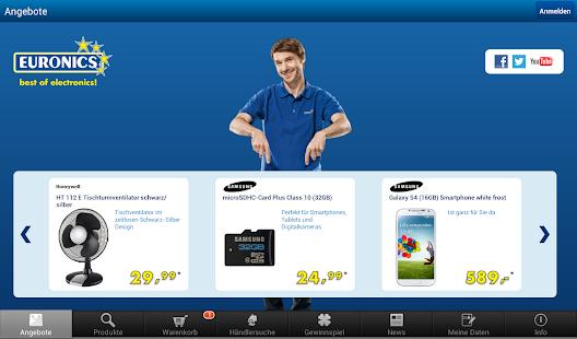 EURONICS – best of electronics - screenshot thumbnail