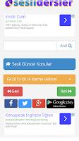 Screenshot of KPSS Sesli Dersler