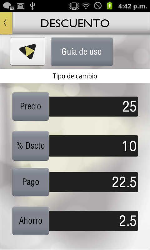 Calculadora Multifuncional - screenshot