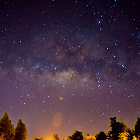 Milkyway by Christopher Imperial - Landscapes Starscapes ( milkyway, stars, night )