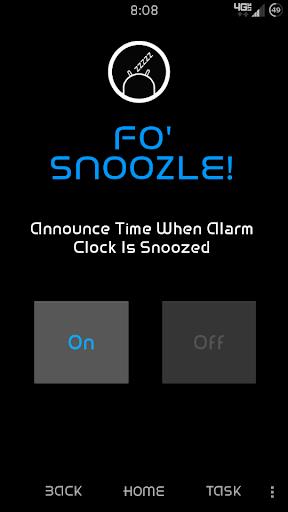 Fo' Snoozle free