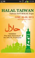 Screenshot of HALAL TAIWAN