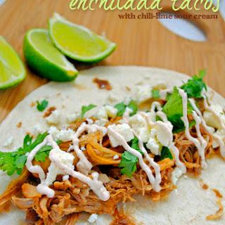 Slow Cooker Enchilada Tacos