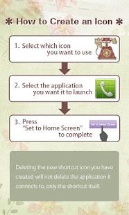 無料个人化AppのSweetIconChange*retrogirl*free|記事Game