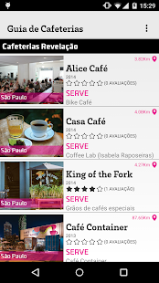 Guia de Cafeterias do Brasil- screenshot thumbnail