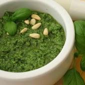 The real Pesto Genovese sauce