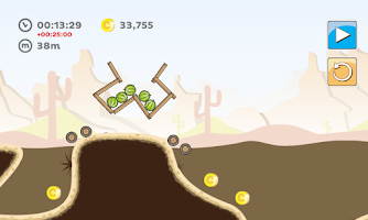 Screenshot of Carry Over The Hill