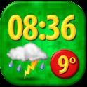 Funny Clock Weather Widget icon