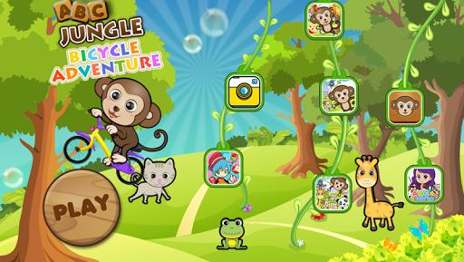 ABC叢林自行車歷險 -適合學齡前兒童 嬰兒 英語教育遊戲