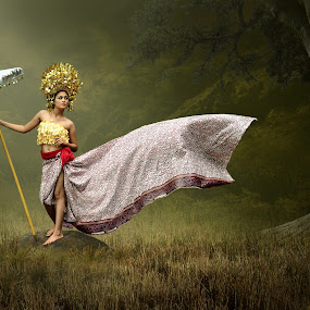 Traditional Glamour by Cucu Fuang - Digital Art People ( model, conceptual, photography )
