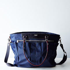 MZ Wallace and Food52 Navy Market Tote (PRESALE)