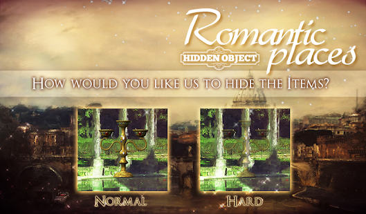Hidden Object: Romantic Places- screenshot thumbnail