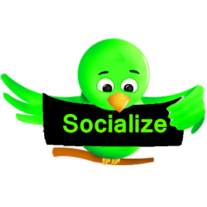 Green Socialize for Twitter for PC and MAC