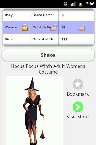 Costumes for Halloween- screenshot