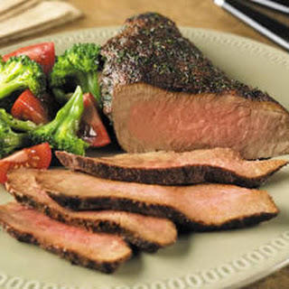 Chili-Crusted Tri-Tip Roast