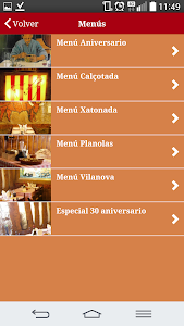 Restaurante Allioli screenshot 1