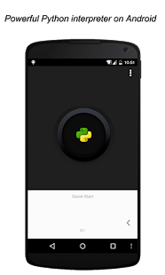 QPython - Python for Android - screenshot thumbnail