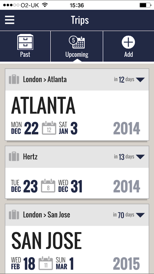 Key Travel Mobile- screenshot